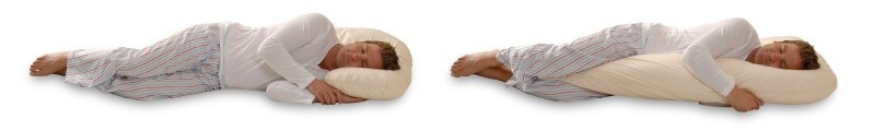 body pillow can reduce snoring