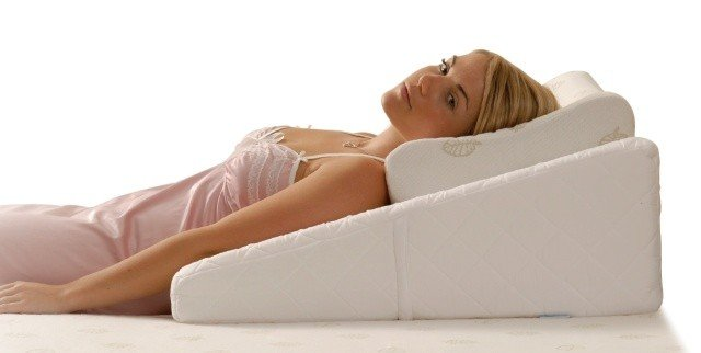 Therapeutic Pillow Memory Foam Pillows Back Supports