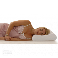 magnetic pillow woman sleeping