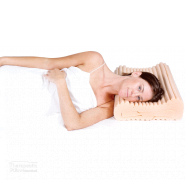 complete sleeprrr plus pillow women lying on her side in bed