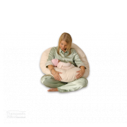 cuddleup baby pillow women feeding baby