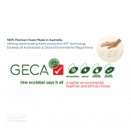 Wellness pillow GEca certified