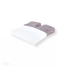 Coccyx Diffuser Cushion Poly/Cotton Slip - White